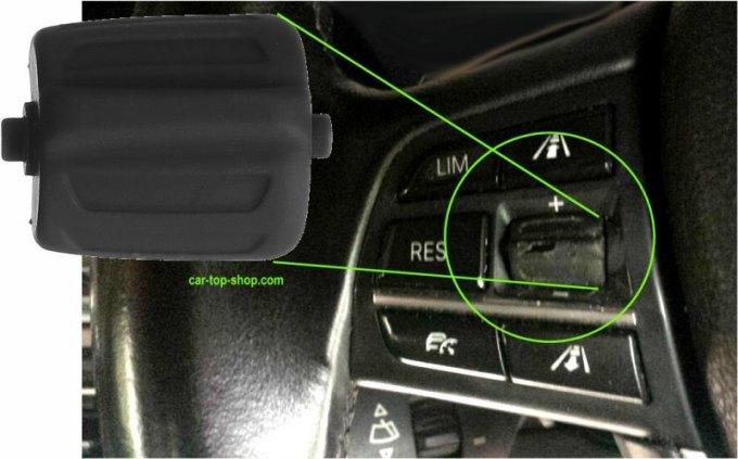 BMW Multifunktionslenkrad Schalter abgenutzt